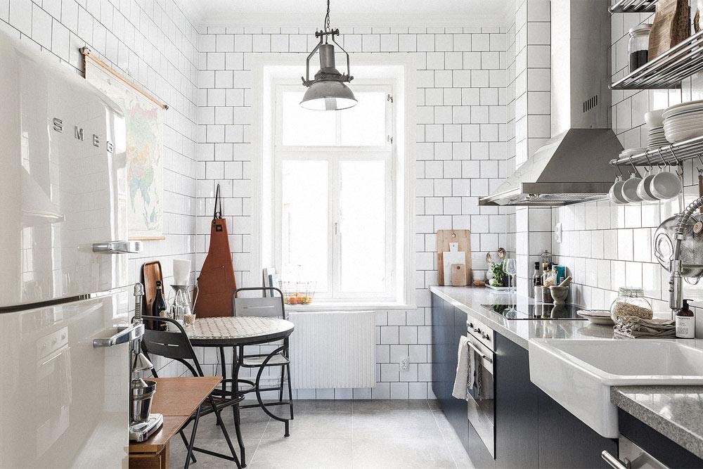 Oracle-Fox-Sunday-Sanctuary-The-Hideaway-White-Bakers-Tiles-Scandinavian-Kitchen-Interior
