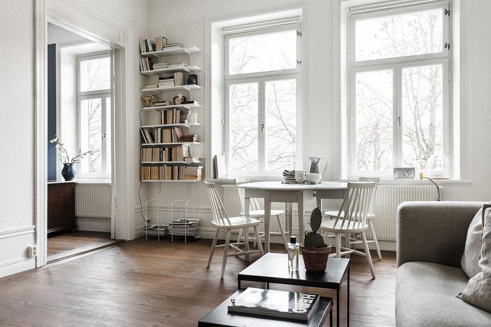 Oracle-Fox-Sunday-Sanctuary-White--Scandinavian-Living-Room-Interior-Book-Case-Wooden-Floors