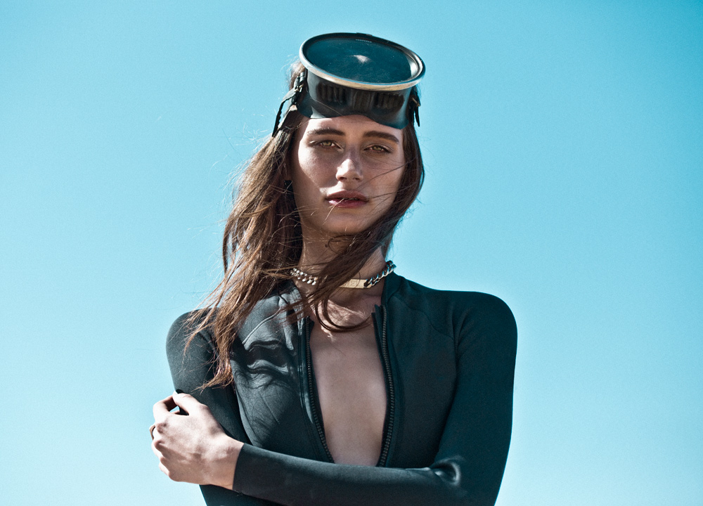 noam frost, oracle fox journal, abysse, wetsuit, bikini, lottie hall, alexander wang surfboard, swimwear, surfboard, scuba tank, amanda shadforth, photographer, stylist