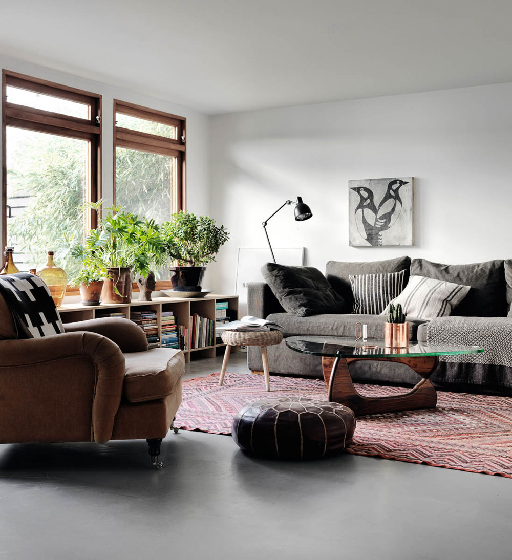 Oracle, Fox, Sunday, Sanctuary, Tina, Hellberg, Minimal, Scandinavian, Interiors, Living, Room, Indoor, Plants