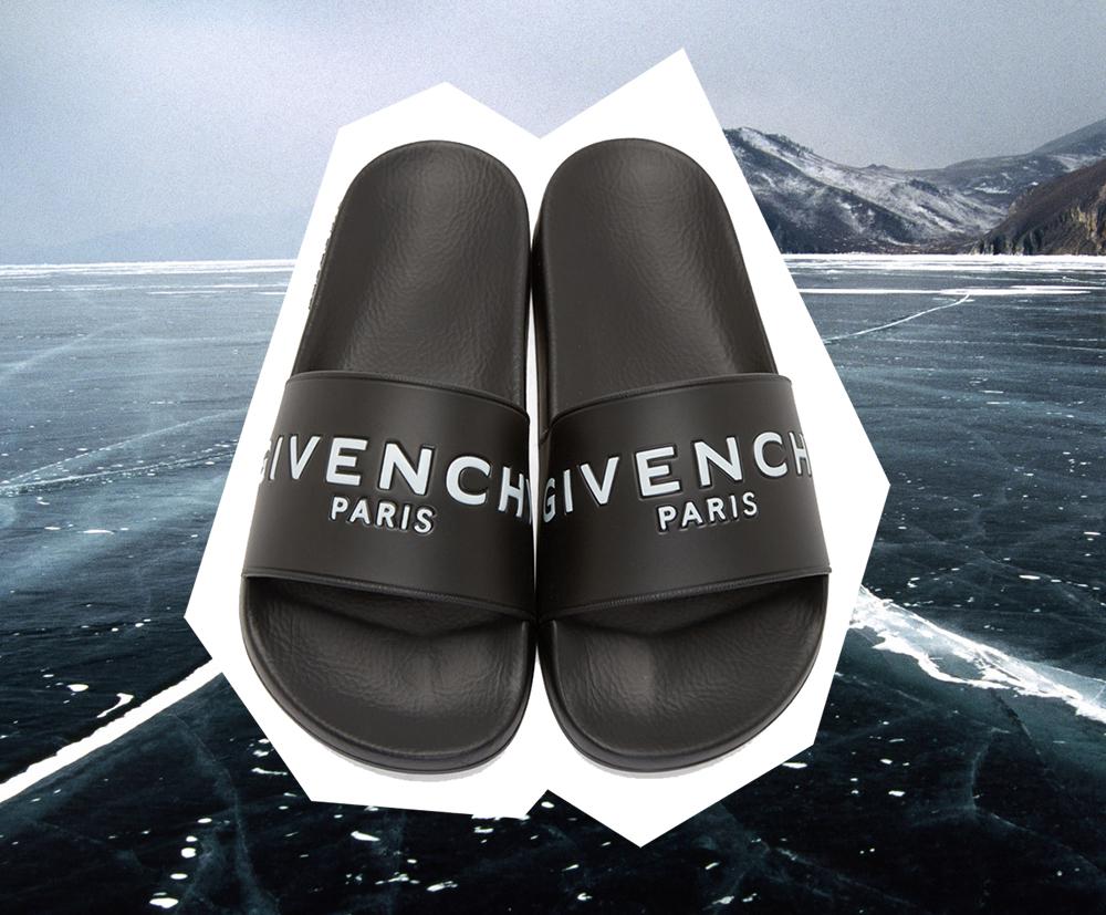 Givenchy, Rubber,Logo,Sandal, Givenchy slides, givenchy logo slide, givenchy slide
