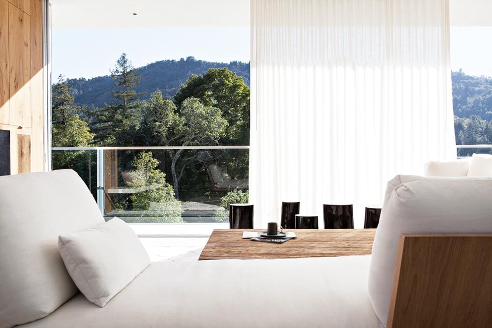 Oracle, Fox, Sunday, Sanctuary, California, Dreaming, Open, Minimal, Interior, Design, Bright, White, Bedroom, Cosy, View