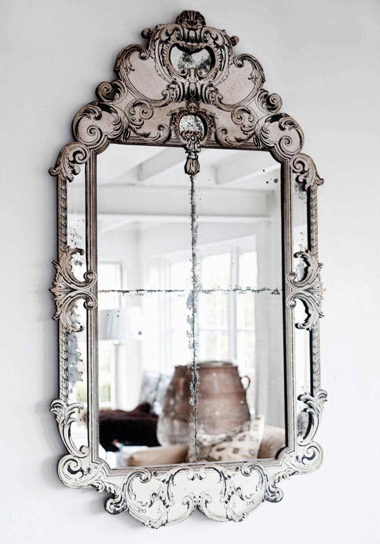 Oracle, Fox, Sunday, Sanctuary, White, Interior, White, Scandinavian, Vintage, Mirror