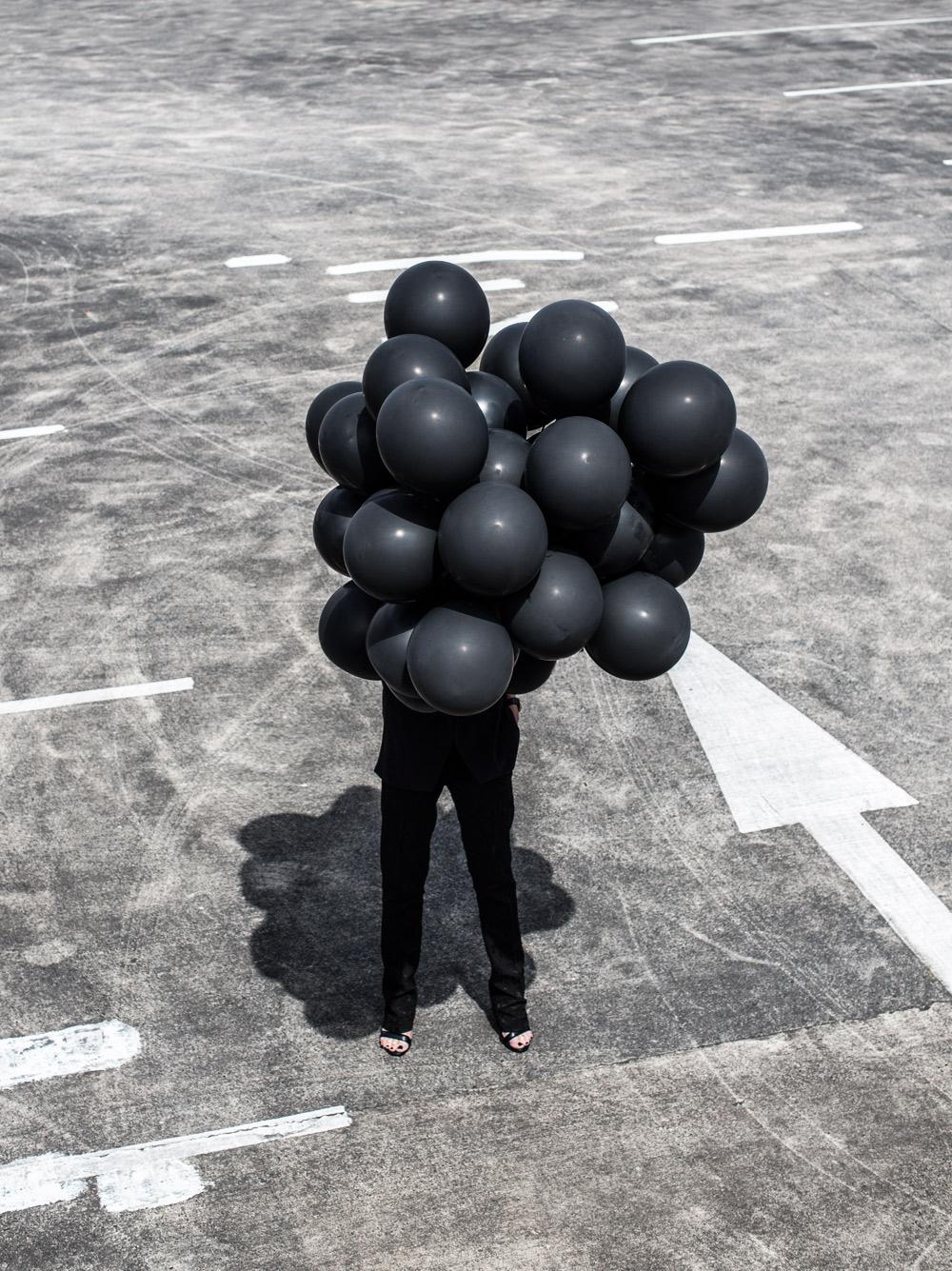 Black Balloons, Black Suit, Bloglovin Awards, Oracle Fox, amanda Shadforth, carpark
