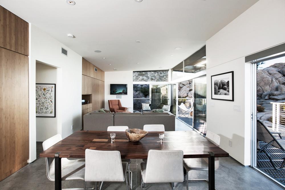 Oracle, Fox, Sunday, Sanctuary, The, Rock, Reach, House, Desert, Modernism, Living, Room