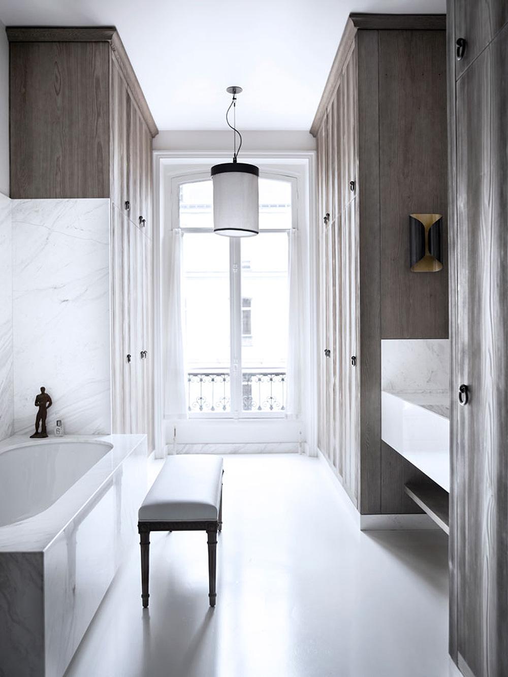 Oracle, Fox, Sunday, Sanctuary, Paris, Apartment, Tour, minimal, bathroom