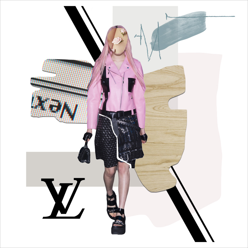 Louis Vuitton, SS 2016, Spring Summer 2016, Details, Runway, style.com, collage, artwork, amanda shadforth, art