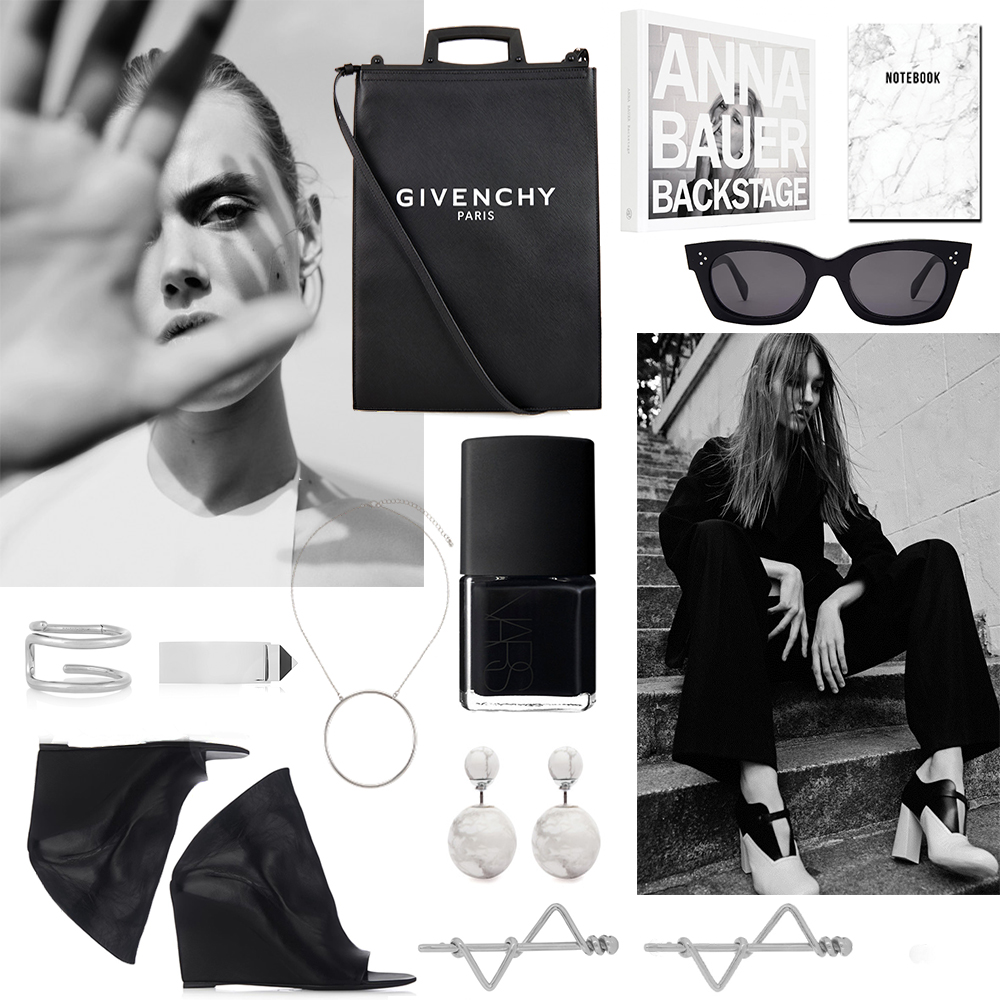Oracle, Fox, Givenchy, Outfit, Collage, Shopping, Monochrome, outfit, Celine, Marble