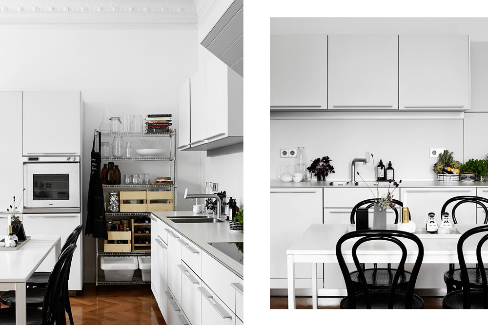 Oracle, Fox, Sunday, Sanctuary, Boy, Meets, Girl, Scandinavian, Interior, Black and White, Kitchen, Minimal, Styling