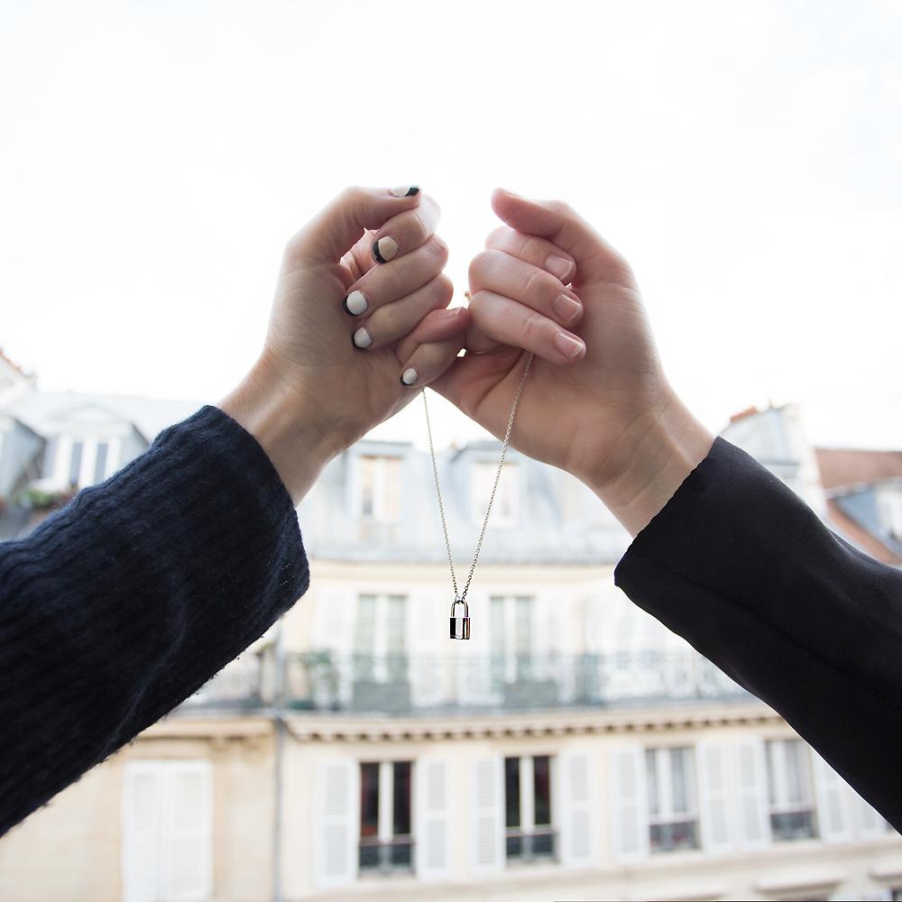 Louis Vuitton, Make A Wish, unicef, Oracle Fox, amanda shadforth, paris, charity, louis vuitton necklace, louis vuitton locket necklace