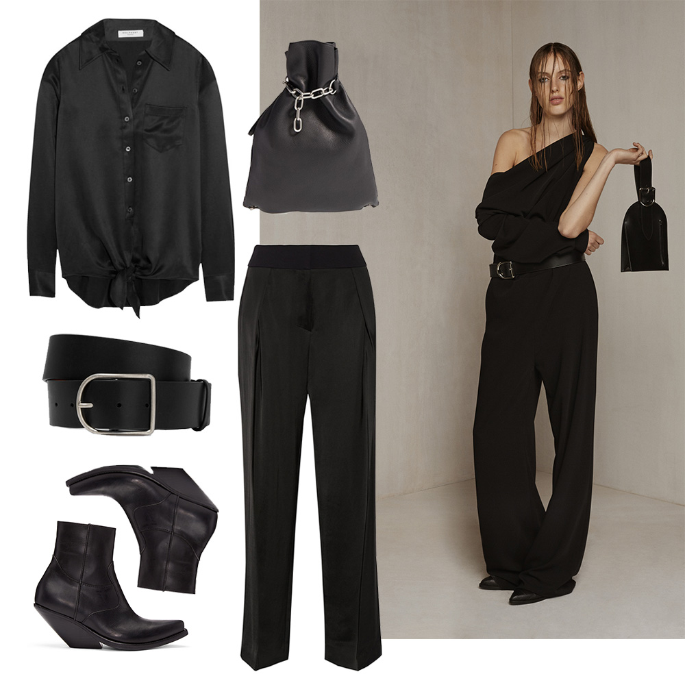 all black outfit collage Outfit-post-black-magic-acne-alexanderwang-oracle-fox