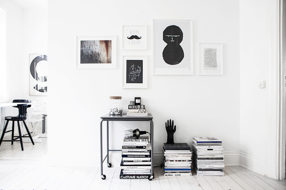 fantastic frank, swedish apartment, home interiors, oracle fox, Sunday Sanctuary, monochrome, Scandinavian, Home tou