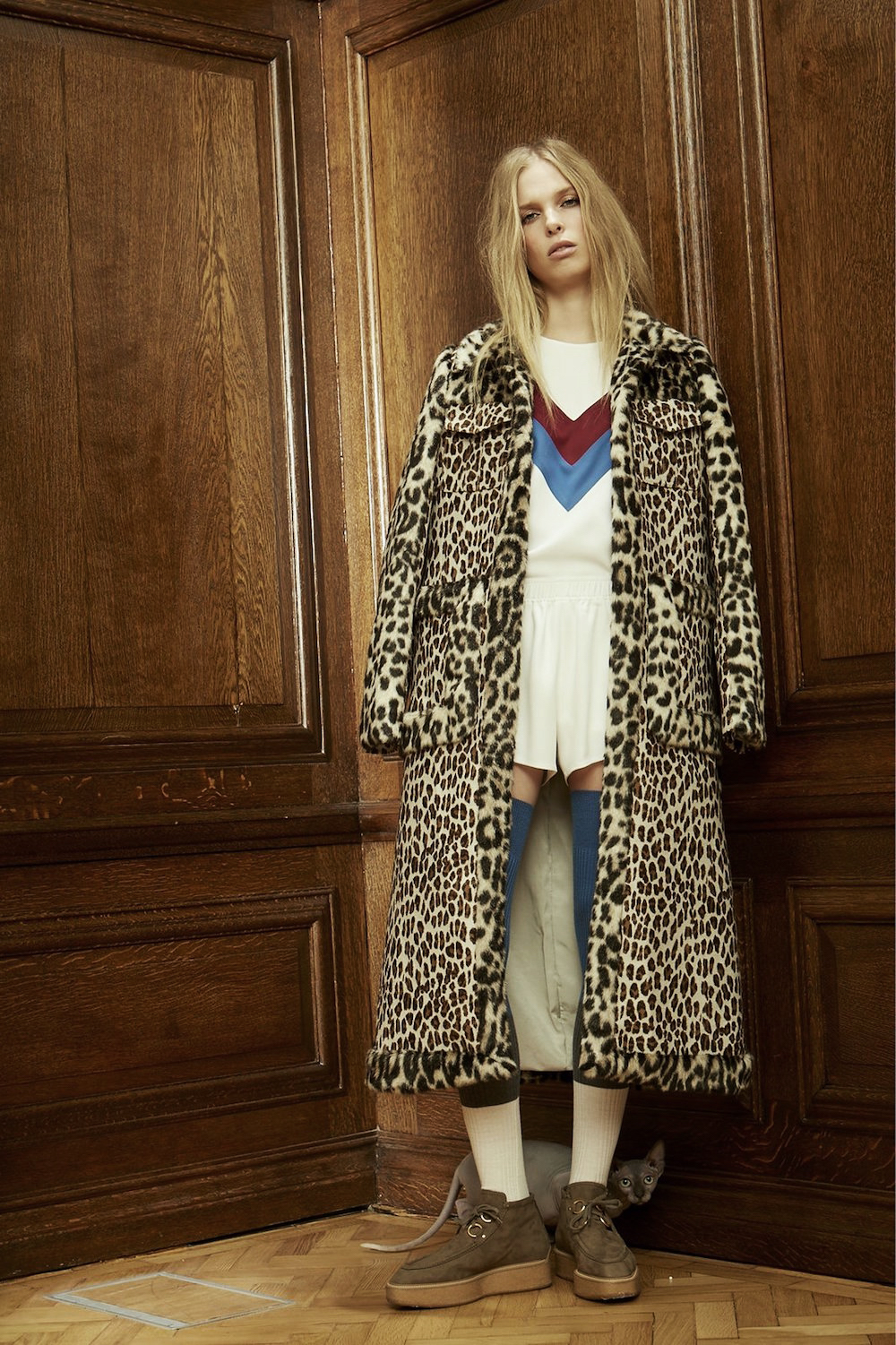 stella mccartney, pre fall 2016, lookbook, leopard, trend, oracle fox