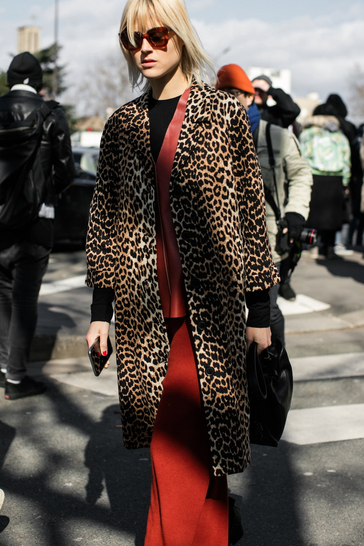 linda tol, street style, leopard, trend, oracle fox
