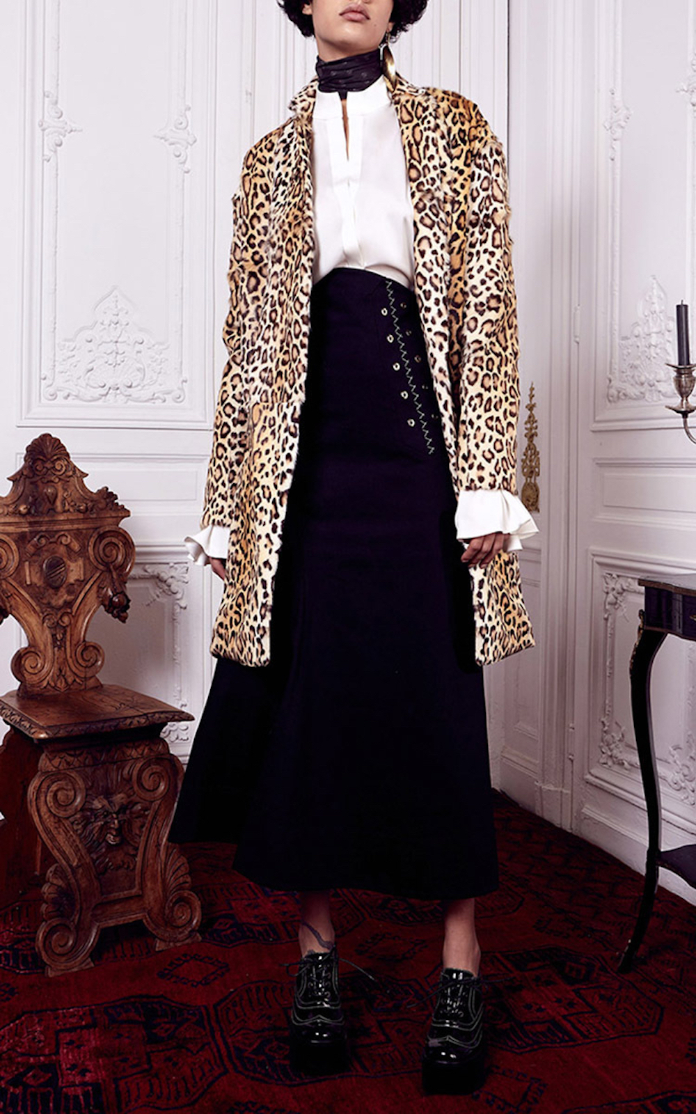 ellery, pre fall 2016, lookbook, leopard, trend, oracle fox