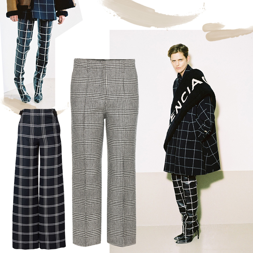 Outfit-collage-check-trend-balencciaga-trousers-oracle-fox