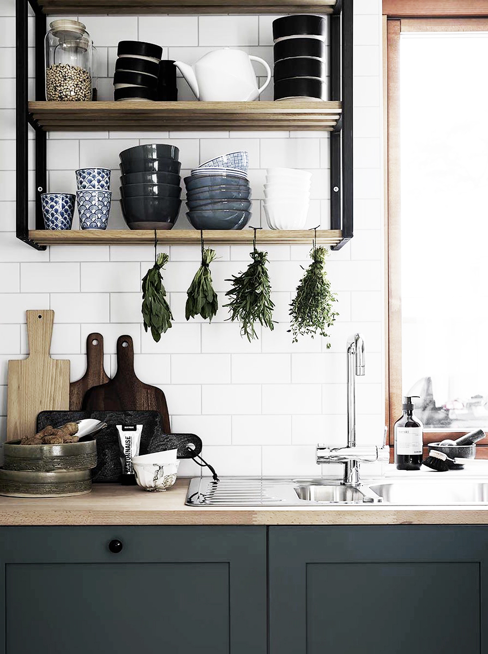 Alexandra Ogonowski, interiors, home, home inspiration, sunday sanctuary, oracle fox, scandinavian house, kitchen