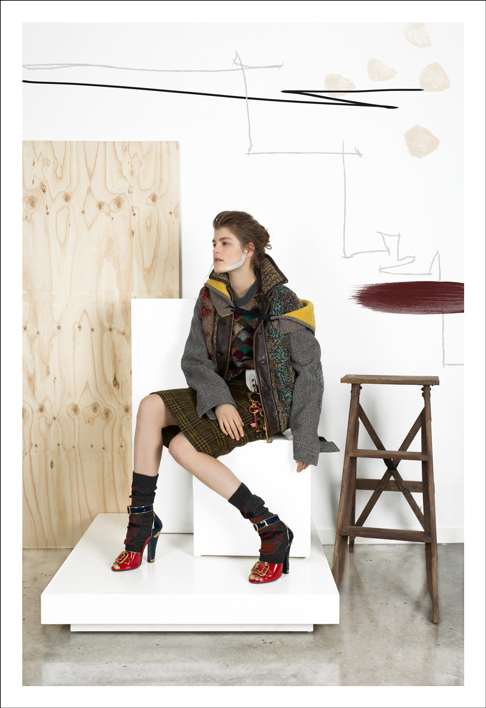 Prada, autumn winter, 2016, accessories, bag, prada bag, prada shoes, prada stores, campaign, photography, styling, amanda shadforth, oracle fox