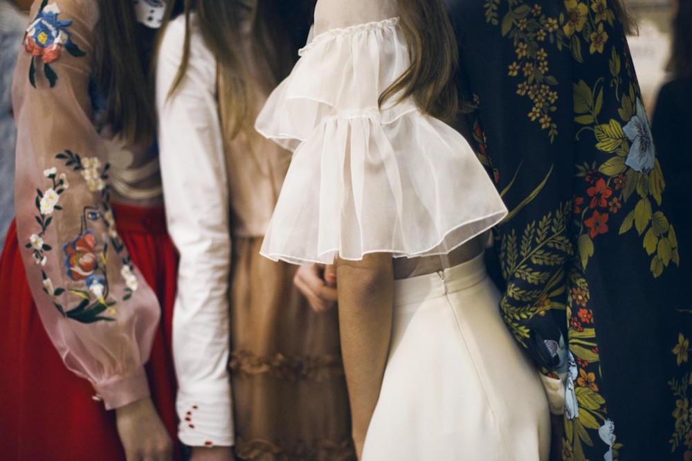 balenciaga, fall 2016, runway, floral, dress, trend, oracle fox