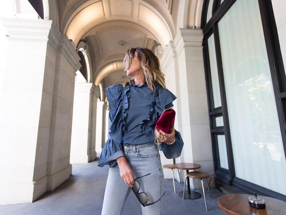 vintage levi jeans, levi jeans, denim jeans, celine boots, celine ankle boots, anine bing bag, amanda shadforth, fashion, style
