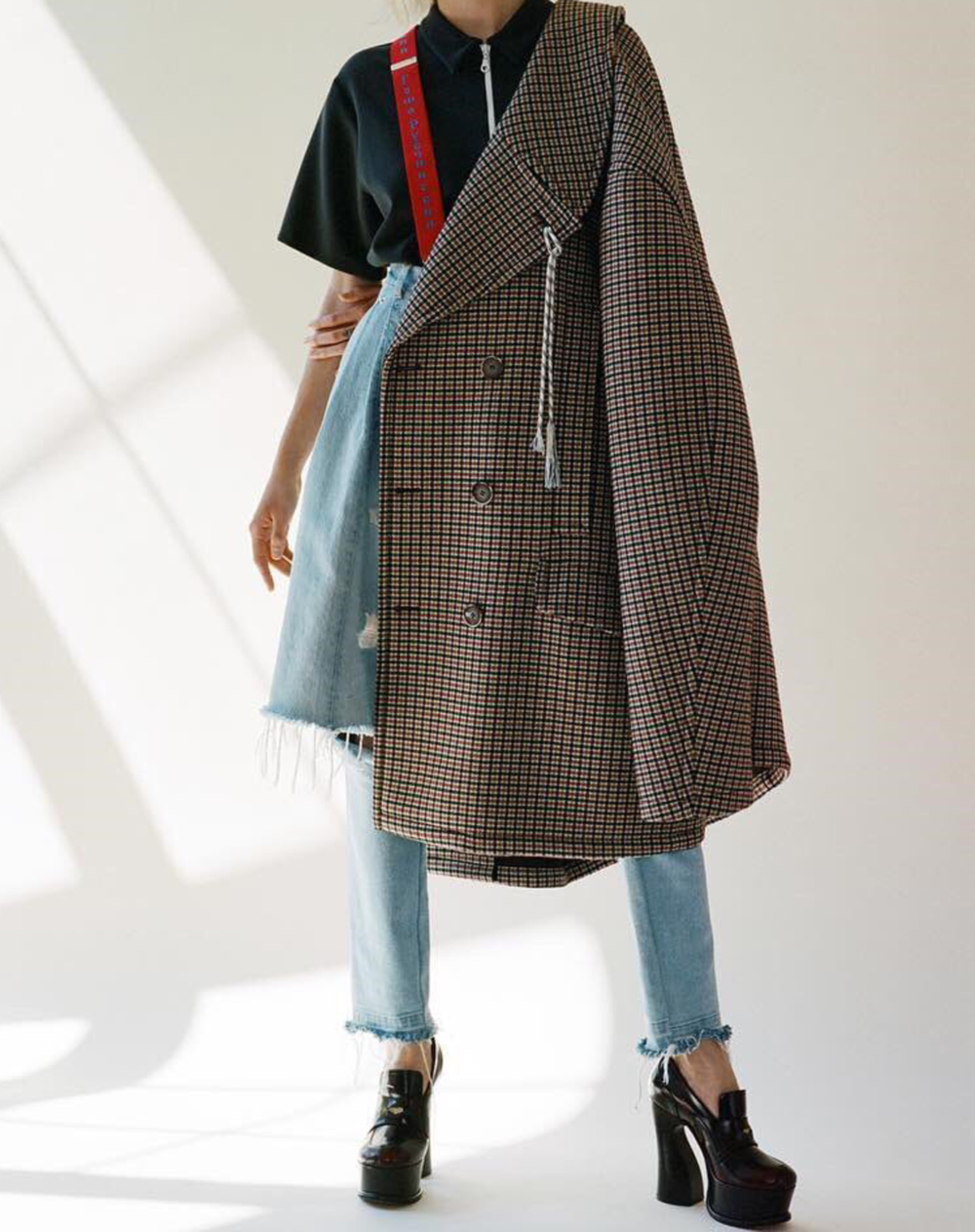 Balenciaga, Celine, Trend, Check, Chequered, Houndstooth, Runway, Street Style, 2016, Oracle Fox