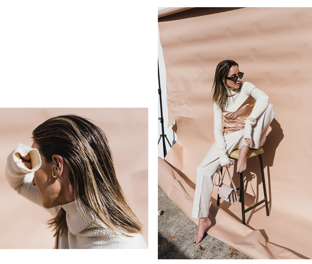 monnier frères, accessories, celine sunglasses, marni bag, pink bag, charlotte chesnais, gold earring, amanda shadforth, oracle fox