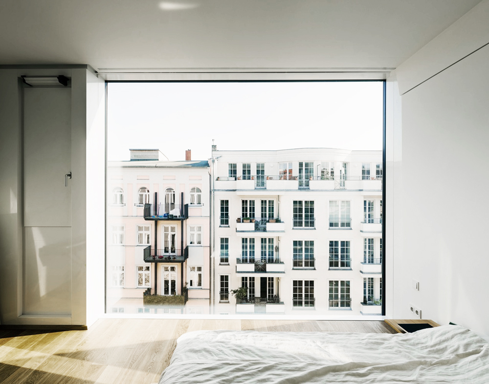 zander roth architected, minimal, interiors, architecture, bed, inspiration, sunday sanctuary, oracle fox