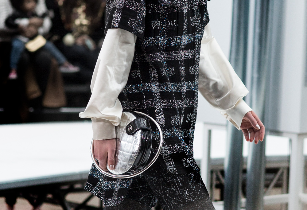 Chanel, Chanel FW 17, Chanel FW 2017, Chanel Fall, 2017, 17, Runway, Details, Bag, Space, Mission Control, Oracle Fox