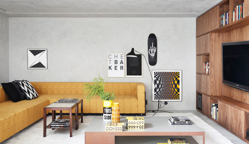 Yellow couch, living room, lounge room, interiors, home, interiors, interiors tour, ma home, guilherme torres, sunday sanctuary, oracle fox