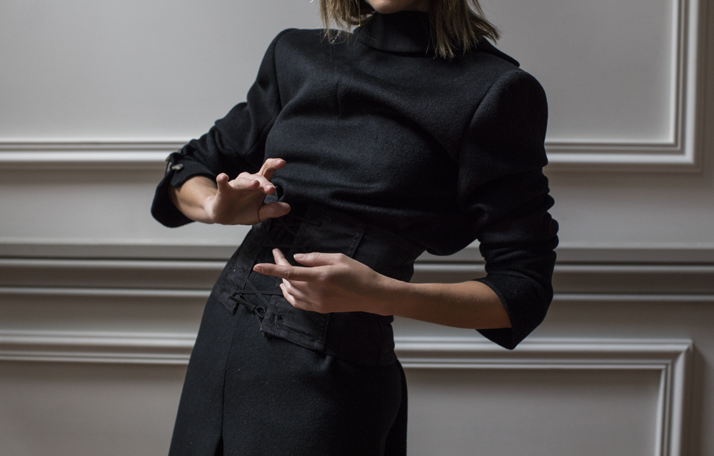 Witchery, Witchery Style Report, Style Report, Monochrome Outfit, Outfit, Amanda Shadforth, Oracle Fox