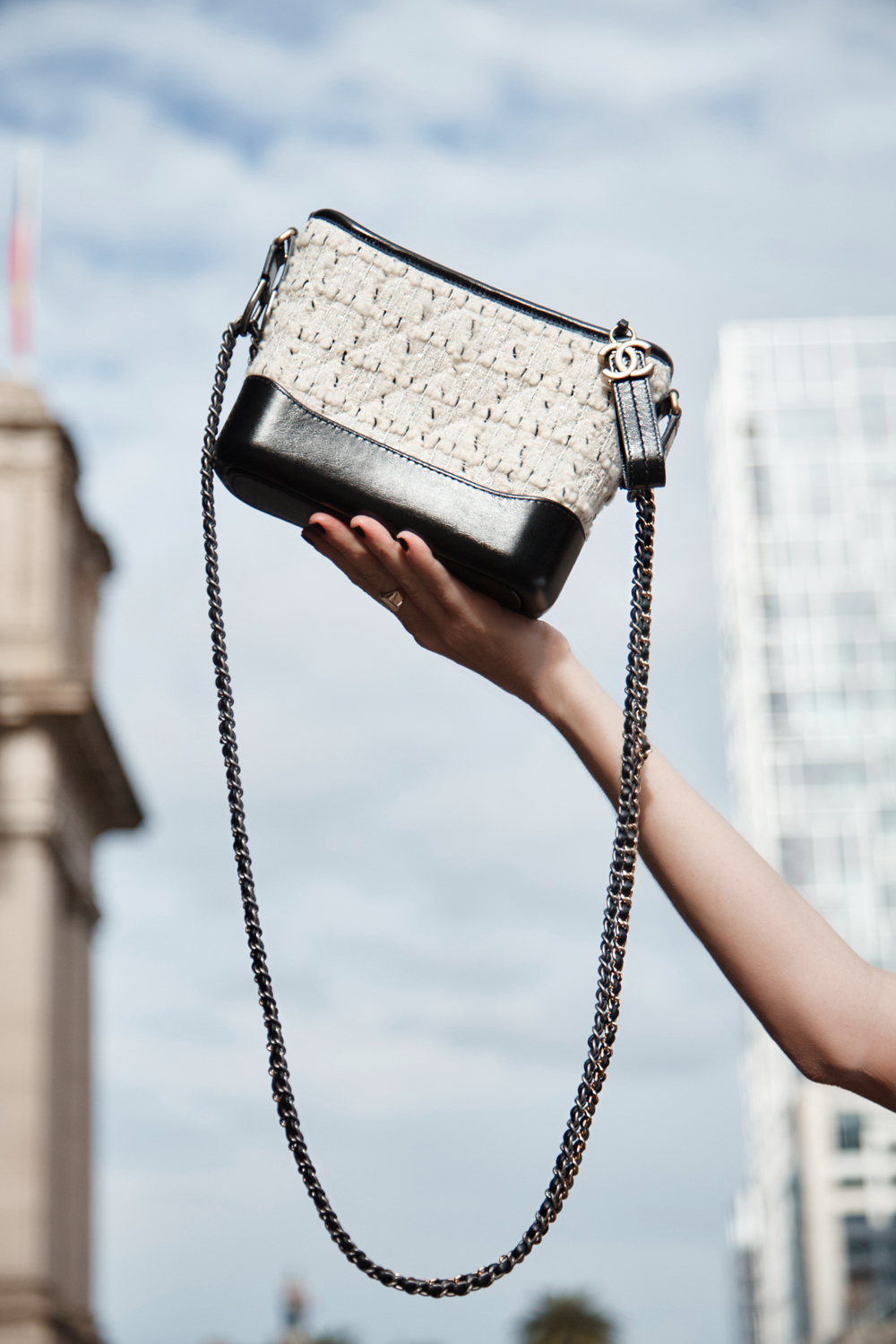 Chanel-Gabrielle-Bag-Tweed-Street-Style-Amanda-Shadforth.2