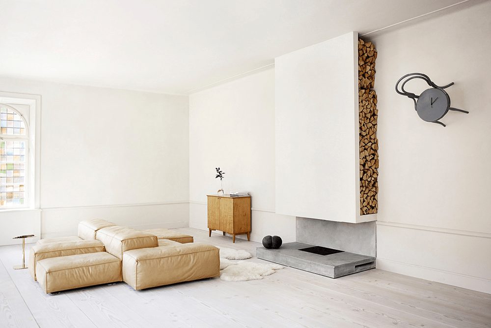 oft, apartment, stockholm, tan, leather, interiors, Oracle, Fox