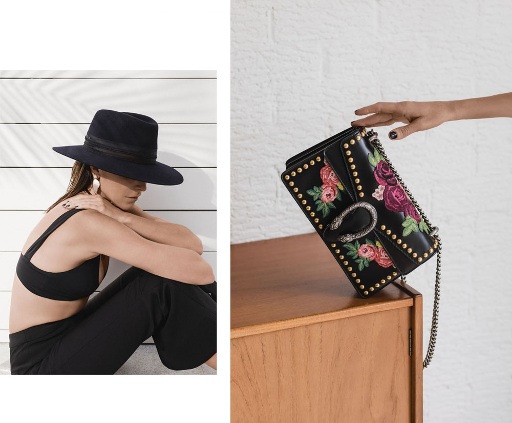 Net-A-Porter, Summer, Vacation, Bryon, Bay, Gucci, Dionysus, Bag, Black Outfit, Amanda Shadforth