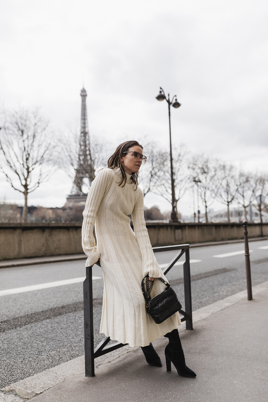 Celine-Knit-Dress-Chanel-Gabrielle-Bag-Paris-Amanda-Shadforth.2
