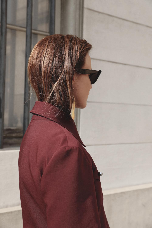 Ellery-Maroon-Suit-Prada-Lizard-Bag-Amanda-Shadforth.1