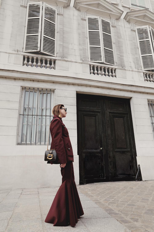 Ellery-Maroon-Suit-Prada-Lizard-Bag-Amanda-Shadforth.4