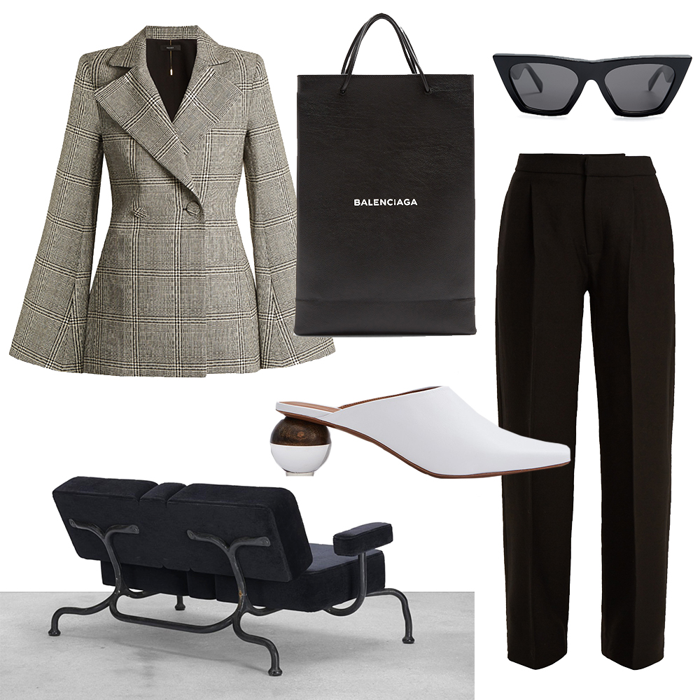 Outfit, Collage, Ellery, Blazer, Inspiration, Balenciaga, Suit