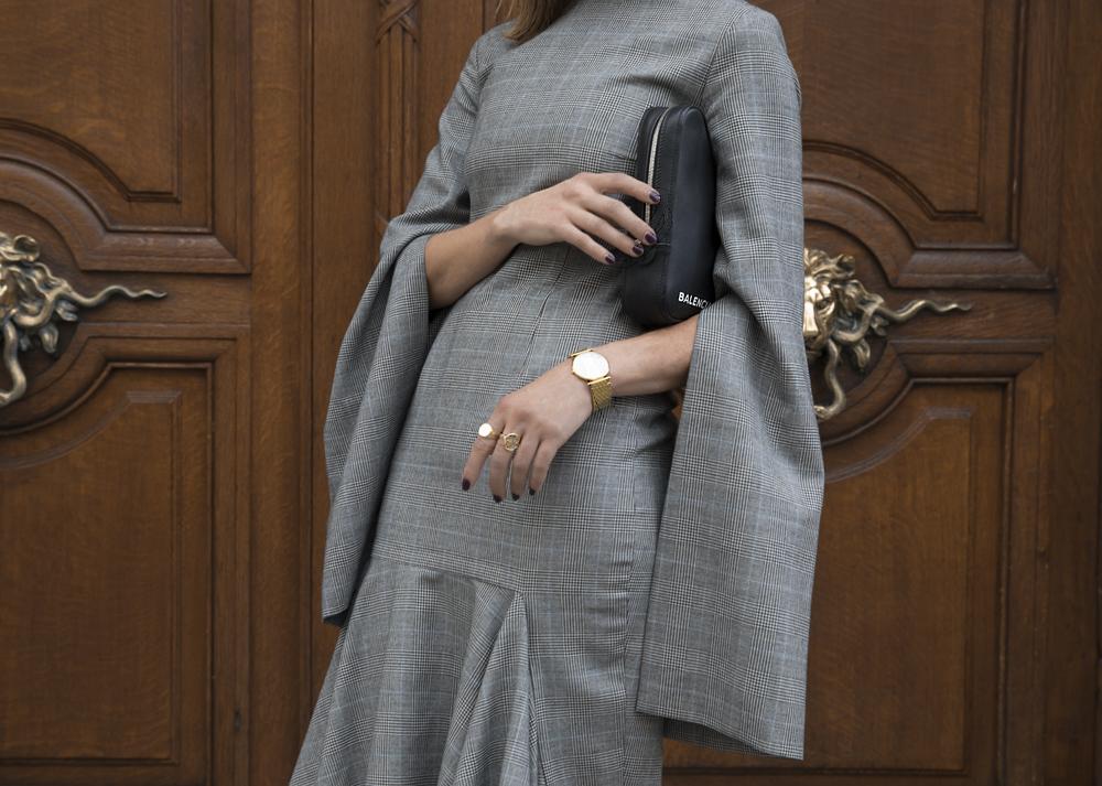 Solace-London-Grey-Dress-Paris-Amanda-Shadforth