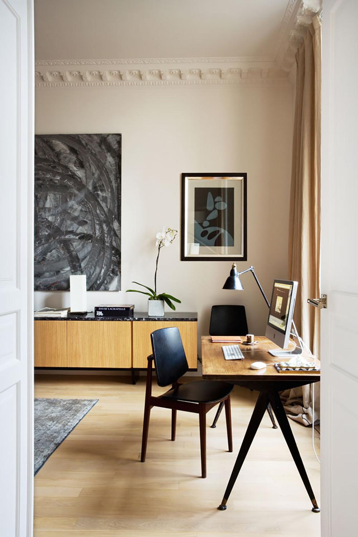Home, Interiors, Timber, Paris, Apartment, Sunday, Sanctuary, Oracle, Fox, Amanda, Shadforth
