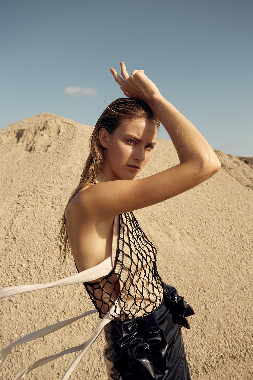 Trend, Houndstooth, Plaid, Elle, Oracle, Fox, Editorial, Fashion, Amanda, Shadforth