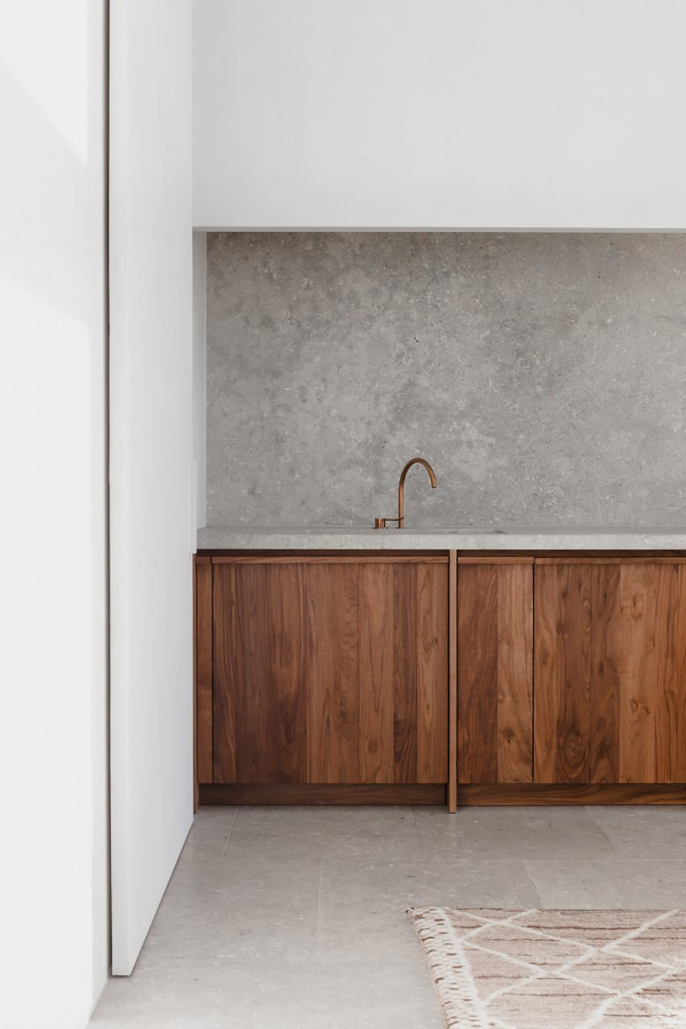 Home, interiors, simple, design, timber, concrete, oracle, fox