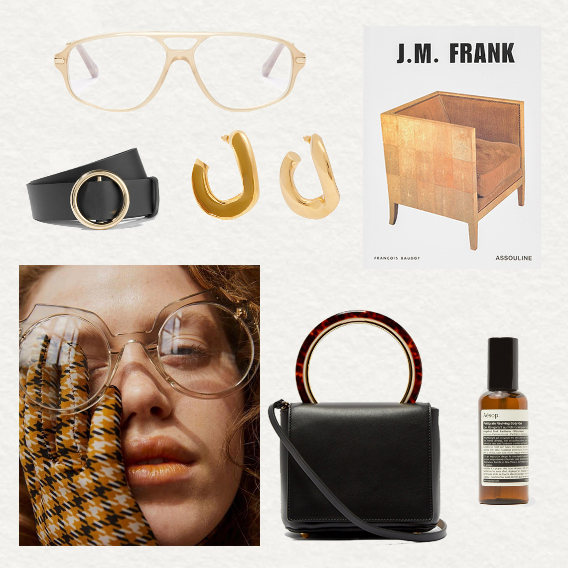 Outfit, Collage, Shopping, Chloe glasses, Marni, Outfit, Oracle Fox