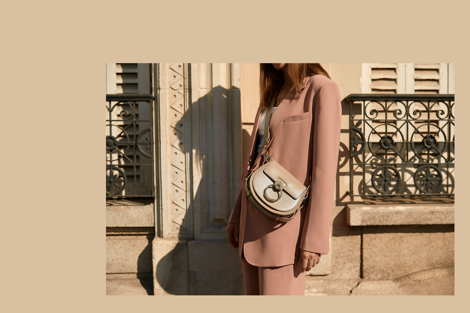 Chloe Bag, Chloe, Bag, Pink Suit, Outfit, Suit, Paris