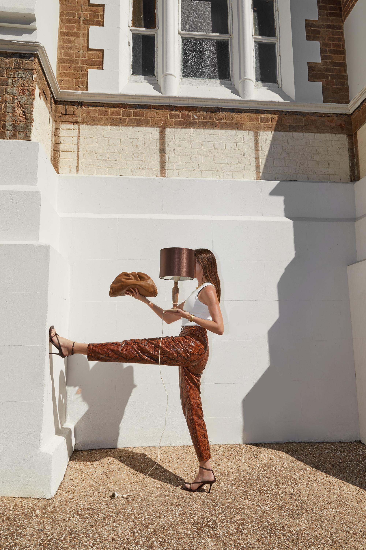 Matches, Fashion, Attico, Snake, Print, Leather, Bottega, Veneta, Shoes