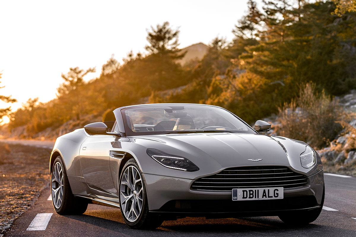 Aston Martin Db11 Volante Review  Oracle Time