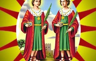 Oração a São Cosme e São Damião