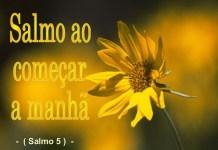Salmo 5 – Oração da Manhã