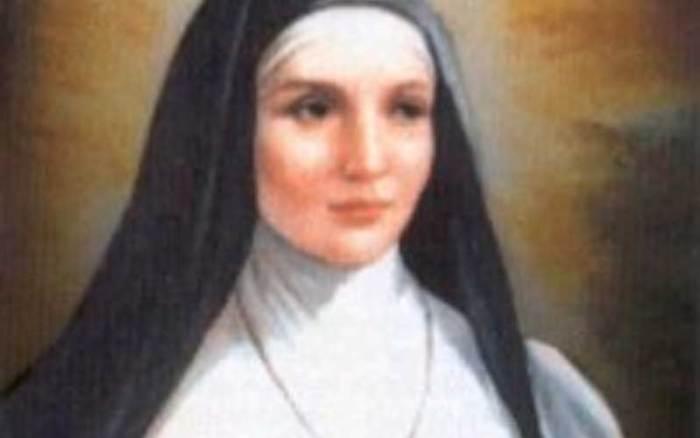 Santa Benedita de Roma viveu no século VI. Era religiosa de um convento fundado em Roma por Santa Galla. Dedicava a sua vida em ajudar os pobres e doentes.