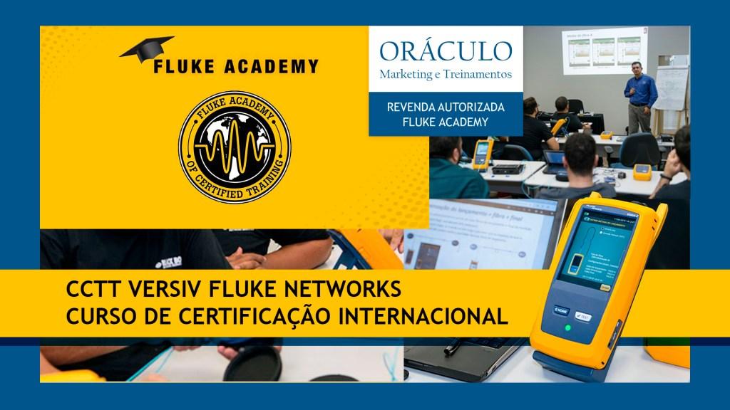 Certificação CCTT Versiv Fluke Networks. Torne-se um especialista em certificação de redes.