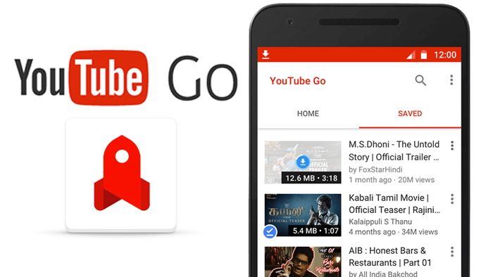 Youtube Go, assista videos offline